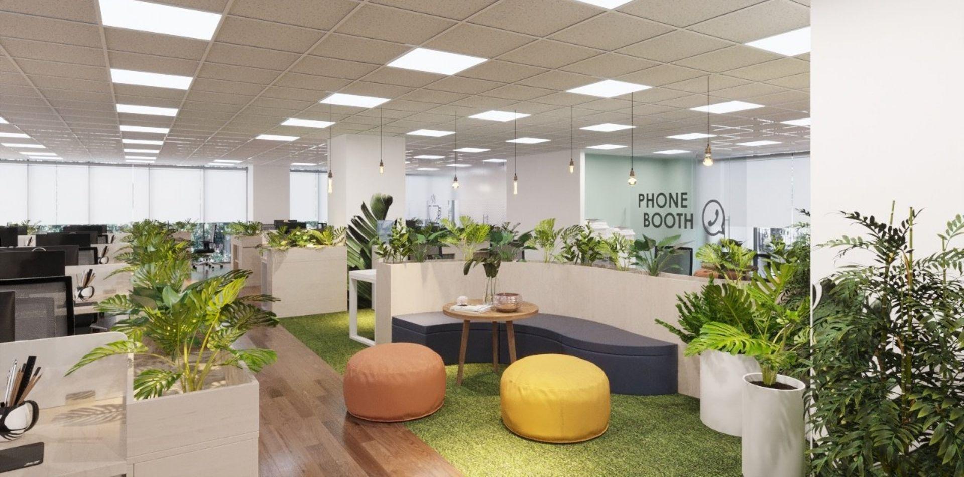 Thiết kế văn phòng mới với những công nghệ đáp ứng nhu cầu làm việc từ xa